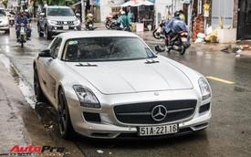 Tóm gọn Mercedes-Benz SLS AMG của ông Đặng Lê Nguyên Vũ khi trên đường về nhà riêng từ Đắk Lắk