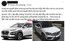 Vợ mang bầu chê xe ồn, soái ca Sài Gòn bán Hyundai Kona mới mua để lên đời Mercedes-Benz GLA