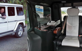 Từng lắp ống thở cho SUV hạng sang chưa đủ, cách làm gói nội thất mới cho Mercedes-AMG G63 của ông Đặng Lê Nguyên Vũ còn đặc biệt hơn thế