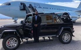 Rapper giàu nhất thế giới tậu Mercedes-Maybach G650 Landaulet đầu tiên tại Bắc Mỹ