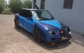 """Bugatti Veyron mui trần """"Made in Ấn Độ"""" làm người xem phì cười"""