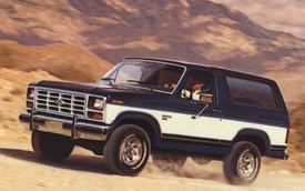 6 điểm cần biết về Ford Bronco ra mắt trong năm sau: Khung Ranger, dáng vuông như G-Class