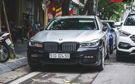Dân chơi Hà Thành 'độ' BMW 740Li giá 5 tỷ thành phiên bản thể thao