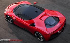 Ferrari cam kết đẩy công suất lên cao hơn nữa nhờ công nghệ Hybrid