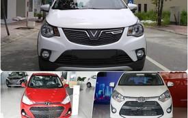 So sánh trực quan VinFast Fadil, Hyundai Grand i10 hay Toyota Wigo: Xe thương hiệu Việt có gì cạnh tranh hai 'ông lớn'?
