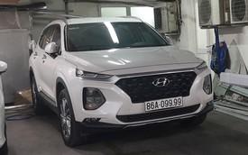 Thêm 'bàn tay vàng trong làng bốc biển', Hyundai Santa Fe 2019 đeo biển tứ quý 9 xuất hiện ở Sài Gòn