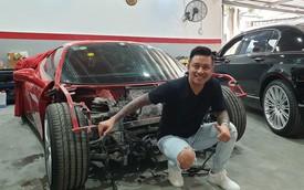 Siêu xe Ferrari 488 GTB của ca sĩ Tuấn Hưng sẵn sàng 'hồi sinh' sau tai nạn