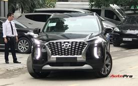 Cận cảnh ngoại thất Hyundai Palisade đầu tiên tại Việt Nam - Sẽ lắp ráp như Santa Fe?