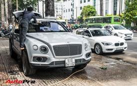 Tóm gọn Bentley Bentayga First Edition của ông Đặng Lê Nguyên Vũ đi bảo dưỡng