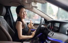 Lộ tin Hương Tràm bán Mercedes-Benz E200 trước khi đi Mỹ