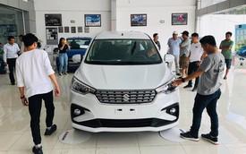 Suzuki Ertiga thế hệ mới giá từ 499 triệu đồng ồ ạt đổ bộ đại lý, đối thủ của Mitsubishi Xpander giao xe từ tháng 7