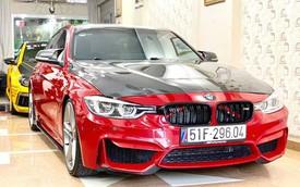 Dân chơi Sài Gòn bán BMW 320i giá 1,4 tỷ dù tiền độ xe 'ngốn' gần 1 tỷ đồng