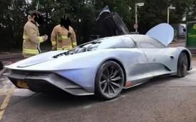 Thấy xe triệu đô thử nghiệm bốc cháy, nhiều đại gia đặt cọc McLaren Speedtail 'đứng ngồi không yên'