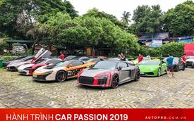 Nhìn lại hành trình gần 3 tiếng đồng hồ từ Hà Nội tới Hạ Long của 18 siêu xe, xe thể thao