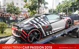 Chùm ảnh: Người dân Hà Nội chen chúc xem siêu xe tụ họp trước thềm Car Passion 2019