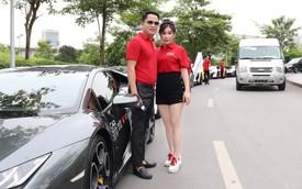 Đại gia Hoàng Kim Khánh cầm lái Lamborghini Huracan thay vì Aventador S và đây là lý do phía sau