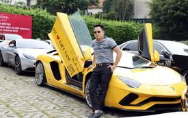 Đại gia Hoàng Kim Khánh bất ngờ mang Lamborghini Aventador S trở lại Car Passion 2019