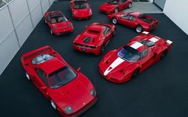 """Bộ sưu tập Ferrari đắt giá """"cũ như mới"""" lên sàn"""