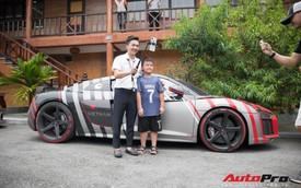 Khám phá chi tiết bộ decal 'độc' trên chiếc Audi R8 của Nguyễn Quốc Cường - người sáng lập hành trình siêu xe Car Passion
