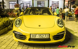Hai lần đổi xe, 'đại gia đồng hồ' mang Porsche 911 Carrera tham gia hành trình siêu xe Car Passion 2019