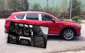 Lộ ảnh và nhiều thông tin chính hãng về Mazda CX-8 trước ngày ra mắt