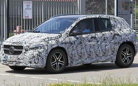 Mercedes-Benz GLA thế hệ mới lộ ảnh chạy thử, dự kiến ra mắt 9/2019
