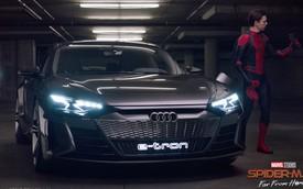 Sau Captain Marvel và Iron Man, người nhện cũng sử dụng xe Audi