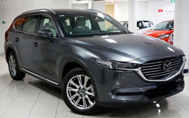 Hôm nay ra mắt Mazda CX-8 tại Việt Nam: SUV 7 chỗ hoàn toàn mới giá hơn 1,1 tỷ đồng
