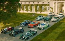 30 chiếc xe Bentley đắt giá nhất tụ họp về một điểm