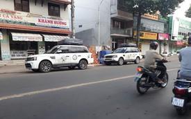 7 chiếc Range Rover 'độ' ống thở thuộc sở hữu của ông chủ cafe Trung Nguyên 'bất thình lình' xuất hiện tại Phan Thiết