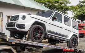Doanh nhân Phạm Trần Nhật Minh mang Mercedes-AMG G63 Edition 1 giá khoảng 13 tỷ đồng đi bấm biển số