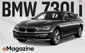 Đánh giá BMW 730Li: Mang chất thể thao lên limo hạng sang