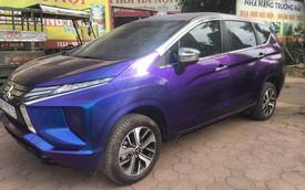 Vừa mua Mitsubishi Xpander, chủ xe đã tháo tung, sơn lại màu tắc kè hoa đầu tiên Việt Nam