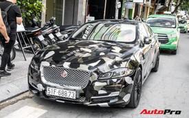 Dân chơi đồ hiệu Sài Gòn lột xác Jaguar XJL theo phong cách BAPE và Supreme
