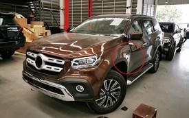 Nissan Terra lột xác thành Mercedes-Benz 'sang chảnh' với chi phí 260 triệu đồng nhưng một chi tiết xuất hiện gây tranh cãi