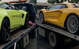 Cặp đôi xe khủng của đại gia Hoàng Kim Khánh lên đường ra Bắc, chuẩn bị cho hành trình Car Passion 2019