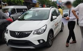 Chiếc VinFast Fadil đầu tiên tại Việt Nam dính va quệt