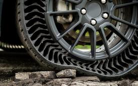 Xe GM sắp dùng lốp không hơi - Chờ ngày VinFast đưa về Việt Nam