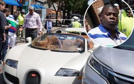 Sao Hollywood tậu Bugatti mui trần 2 triệu USD mới toanh, đâm ngay Honda CR-V khi rời đại lý