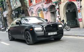 Rolls-Royce Ghost độ huyền bí với biển 'thần tài mãi mãi' gây chú ý tại thủ đô