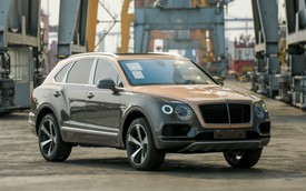 Khám phá Bentley Bentayga V8 bản kỷ niệm 100 năm đầu tiên Việt Nam