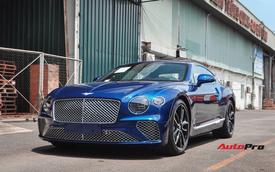 Bentley Continental GT thế hệ mới thứ 2 về Việt Nam với màu sơn dễ gây hoang mang