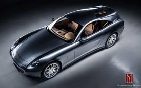 Ferrari 612 Scagliette Shooting Brake: Siêu xe có phần đuôi 'nhức mắt'
