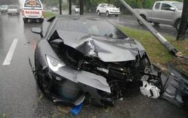 Người đàn ông lái siêu xe Lamborghini Aventador gây tai nạn trên đường đến đám tang của cha mình