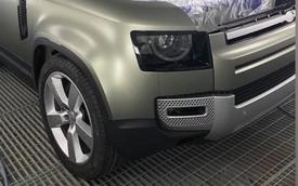 Lộ nhiều ảnh nội, ngoại thất Land Rover Defender 2020: Lột xác toàn diện