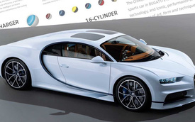 Muốn mua siêu xe Bugatti cần chồng tối thiểu bao nhiêu tiền?