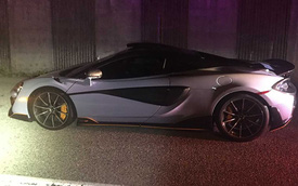 Mới mua McLaren 600LT, chủ xe cay đắng nhìn xế cưng bị tịch thu chỉ sau 10 phút