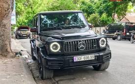 Mercedes-AMG G63 của dân chơi Hà Thành đeo biển số 'lộc mãi' khiến nhiều người choáng ngợp