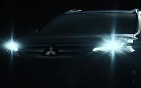 Mitsubishi Pajero Sport 2019 nhá hàng trước ngày ra mắt 25/7, hứa hẹn tăng sức cạnh tranh Toyota Fortuner