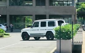 Doanh nhân Phạm Trần Nhật Minh lần đầu tiên xuống phố cùng Mercedes-AMG G63 Edition sau khi ra biển số